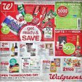 Walgreens Thanksgiving Day Sale 2016 - Page 1