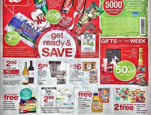 Walgreens Thanksgiving Sale Ad Available Now