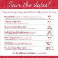 Sams Club Holiday Sale Events