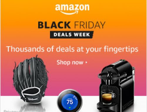 Amazon Black Friday Deals Week is LIVE!