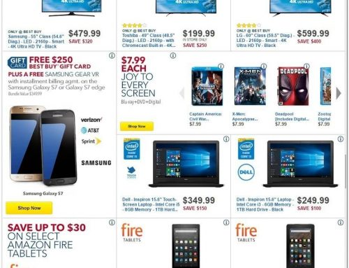 Best Buy Black Friday 2016 Ad Unveiled. 16 Deals Available Now!