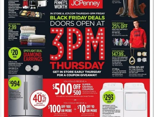 JCPenney Black Friday Ad Now Available