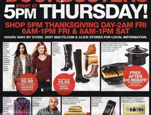 Macy's Black Friday 2016 Ad Is Here!