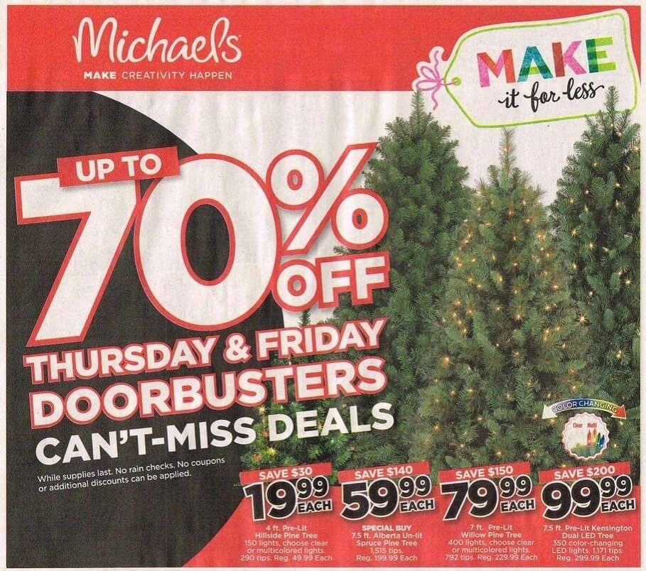 Michael's Black Friday 2016 Ad - Page 1