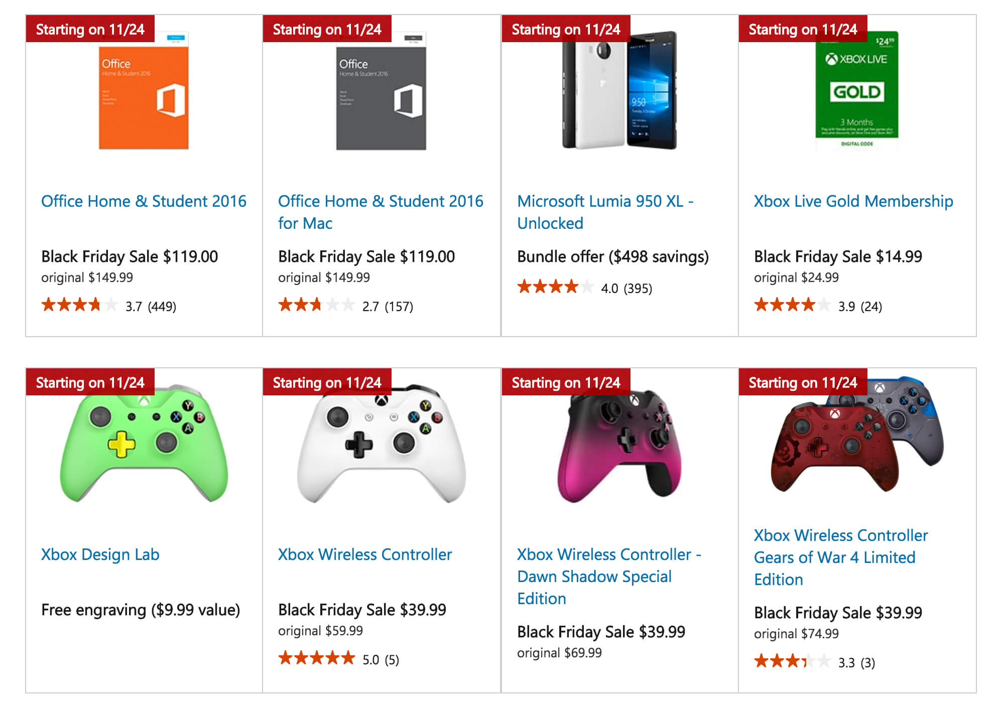 Microsoft Office Black Friday & Cyber Monday Instant Off Deals. Microsoft Store Black Friday & Cyber Monday deals on Microsoft Office suites are available now. The software maker offers savings on Microsoft Office Home 1-year subscriptions and Office Home & Student traditional one-time-pay edition.