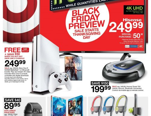 Target Black Friday Ad Released. Early Access Sale Going on NOW!