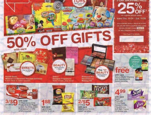 Walgreens Black Friday 2016 Ad Now Available!