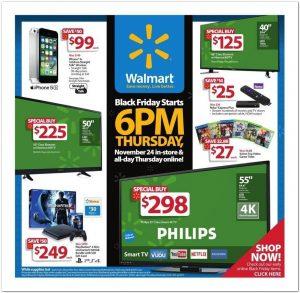 Walmart Black Friday 2016 Ad - Page 1