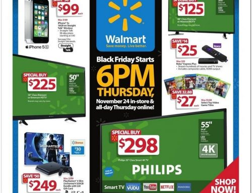 Walmart Black Friday 2016 Ad Released!